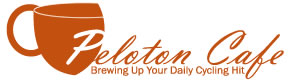 Peloton Cafe Logo - White